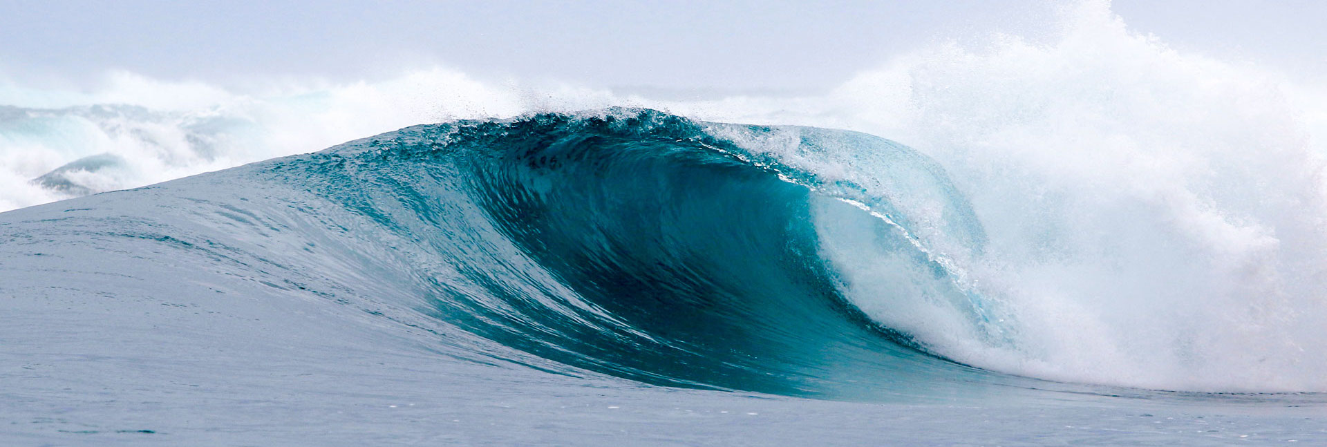 A glassy right-hand wave on a reef break in the Mentawais, a Pureline Surf worldwide coaching destination.