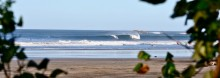 Playa Guiones, sand and fun waves