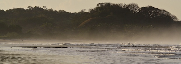 Private surf coaching sessions are sometimes best done at dawn in Costa Rica