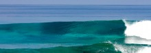 Crystal clear wave in the Maldives, a Pureline Surf Worldwide Coaching destination.